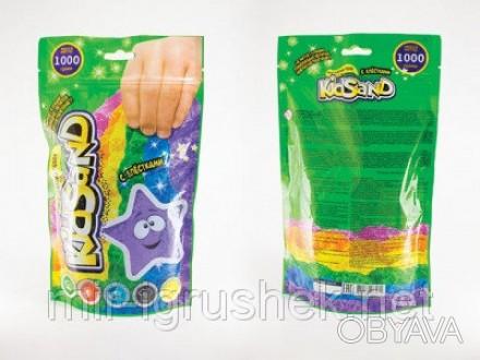 Кинетический песок KidSand 1000 г. 8 штук в упаковке. KidSand – кинетический пес. Одесса, Одесская область. фото 1