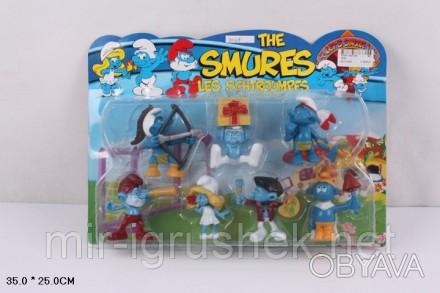 """Герои 3025 The Smurfs"""" 7шт.лист 35*25 ш.к./96/"""". Одесса, Одесская область. фото 1"""
