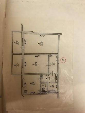 Продается теплая, светлая, просторная 2-х комнатная квартира с ремонтом в пгт. Б. Бородянка, Бородянка, Киевская область. фото 10