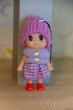 Детский брелок-куколка