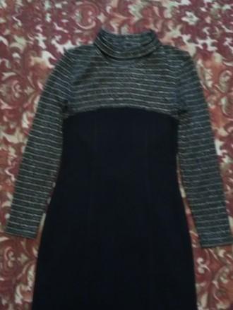 Красивое, теплое и главное презентабельное платье в очень хорошем состоянии, 46 . Днепр, Днепропетровская область. фото 6