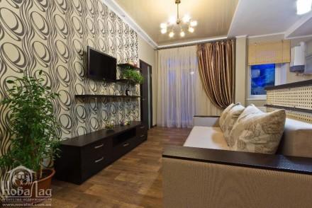 Двухкомнатная квартира на Красной Площади. Чернигов. фото 1