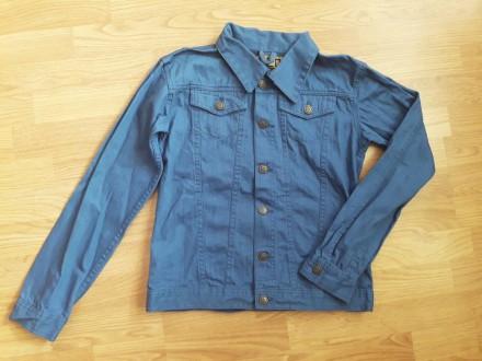 Стильна джинсовая куртка Takko Fashion 158/164. Никополь. фото 1