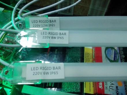 Светодиодная планка (линейка) LED светильник 220 в 6-12 Вт. Купянск. фото 1