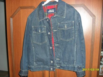 куртка джинсова. Стрый. фото 1