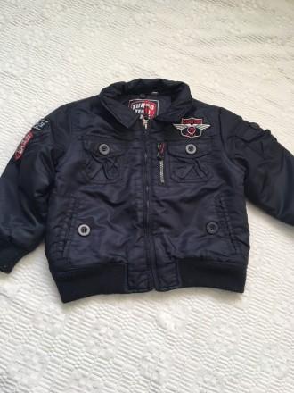 Демисезонная курточка на мальчика 98 см. Купянск. фото 1