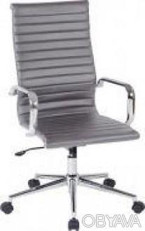 Директорское офисное кресло на хромированной основе делает кресло прочным. Мягка. Днепр, Днепропетровская область. фото 1