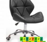 Мягкое кресло на колесах, регулируется по высоте с помощью газлифта, поворачивае. Днепр, Днепропетровская область. фото 2