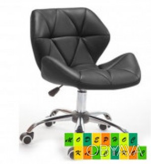 Мягкое кресло на колесах, регулируется по высоте с помощью газлифта, поворачивае. Днепр, Днепропетровская область. фото 1