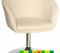 Кресло парикмахерское, искусственная кожа, регулируется с помощью гидравлическог. Днепр, Днепропетровская область. фото 3