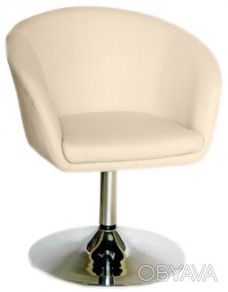Кресло парикмахерское, искусственная кожа, регулируется с помощью гидравлическог. Днепр, Днепропетровская область. фото 1