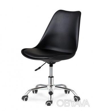 Кресло, регулируется по высоте с помощью газлифта, поворачивается, сиденье пласт. Днепр, Днепропетровская область. фото 1