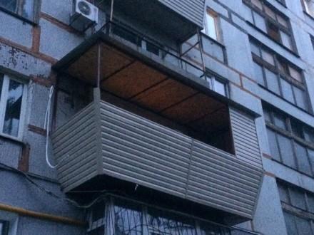 Балконы под ключ ДНЕПР: ГАРАНТИЯ КАЧЕСТВА - Сварочные работы  - Остекление  . Днепр, Днепропетровская область. фото 4