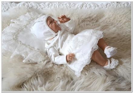 Комплект набор для новорожденного Грация с юбочкой. Житомир. фото 1