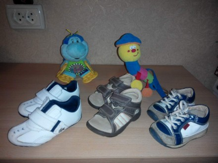 Детская кожаная обувь. Лозовая. фото 1