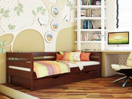 Компактная, натуральная и лаконичная, кровать «Нота» идеально подойдет детям и п. Чернигов, Черниговская область. фото 4