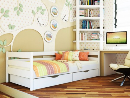 Компактная, натуральная и лаконичная, кровать «Нота» идеально подойдет детям и п. Чернигов, Черниговская область. фото 5