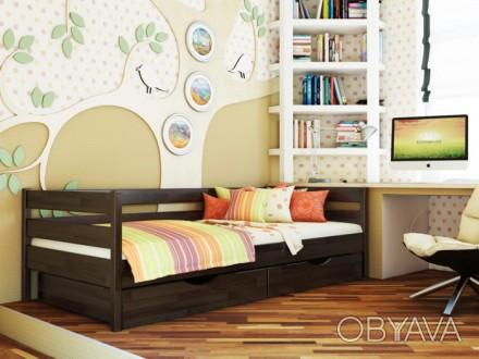 Компактная, натуральная и лаконичная, кровать «Нота» идеально подойдет детям и п. Чернигов, Черниговская область. фото 1