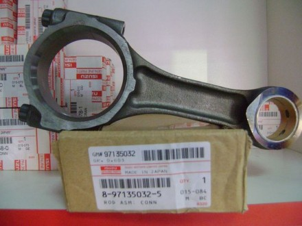 Продам  шатуны   к  двигателю ISUZU  4HG1/ 4HG1-T  кат.ном. 8-97135032-5  к  авт. Черкассы, Черкасская область. фото 2