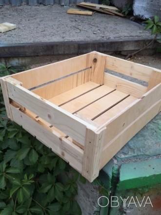 Ящики, яшик деревянные для овощей фруктов