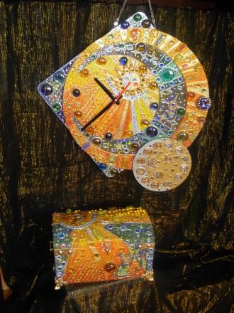 Набір годинник і шкатулка. Кам'янка-Бузька. фото 1
