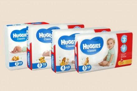 Huggies Classic (Хаггис Классик) мегаупаковки. Одесса. фото 1