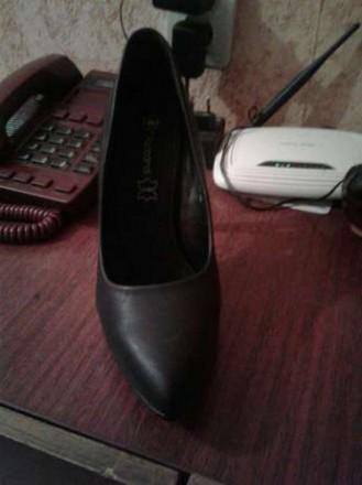 Отличные туфли, новые. Ни разу не ношенные. (В коробке).По стельке 26см. Материа. Запорожье, Запорожская область. фото 5