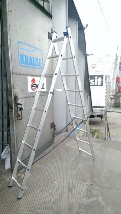 Лестницы и стремянки алюминиевые. Бахмут (Артемовск). фото 1