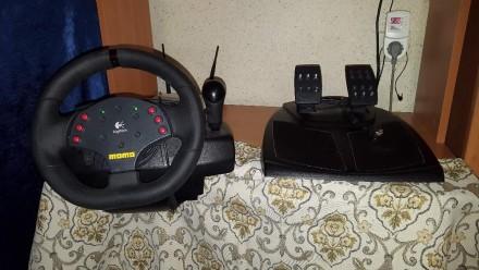 руль симулятор momo racing force feedback wheel. Харьков. фото 1