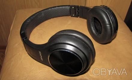 Беспроводные наушники AWEI А600 bl  Hi-Fi Stereo черные. Одесса, Одесская область. фото 1