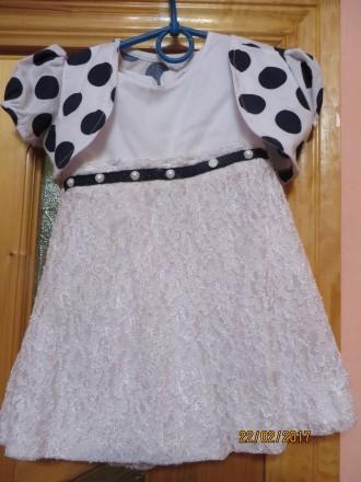 Плаття для принцеси 2-3років. Сколе. фото 1
