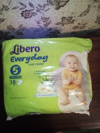 Подгузники Libero Everyday. Чернигов. фото 1