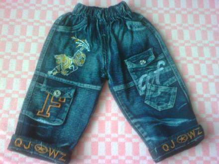 Продам джинсы в отличном состоянии, без дефектов.  Фото 2,3,4,5 на 1-2 года. Об. Изюм, Харьковская область. фото 3