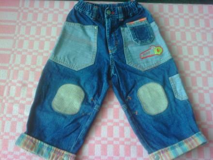 Продам джинсы в отличном состоянии, без дефектов.  Фото 2,3,4,5 на 1-2 года. Об. Изюм, Харьковская область. фото 6