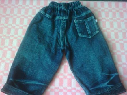 Продам джинсы в отличном состоянии, без дефектов.  Фото 2,3,4,5 на 1-2 года. Об. Изюм, Харьковская область. фото 5