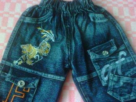 Продам джинсы в отличном состоянии, без дефектов.  Фото 2,3,4,5 на 1-2 года. Об. Изюм, Харьковская область. фото 4