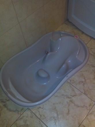 Ванна детская Onda New Style Ok Baby, серая с распорками на ванну.. Харьков. фото 1