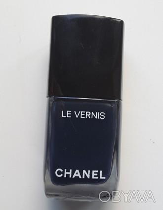 Chanel le vernis 516, синий,стойкий лак для ногтей, 13 ml, франция