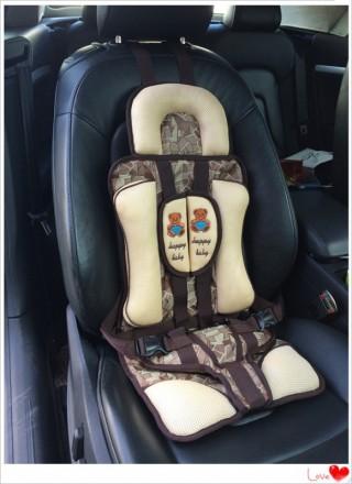 Дктское бескаркасное автокресло для детей от 1 года до 10 лет при максимальном в. Киев, Киевская область. фото 2