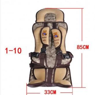 Дктское бескаркасное автокресло для детей от 1 года до 10 лет при максимальном в. Киев, Киевская область. фото 3