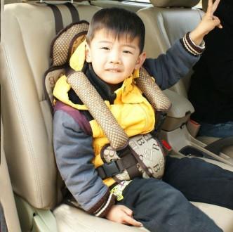 Детское бескаркасное автокресло для детей до 5 лет  . Закрепляется ремнями за сп. Киев, Киевская область. фото 3