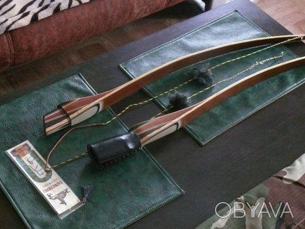 """Продам традиционный лук модель MLB KadisBow. длинна - 64"""" фунтаж - 44#28"""" выт. Чернигов, Черниговская область. фото 1"""