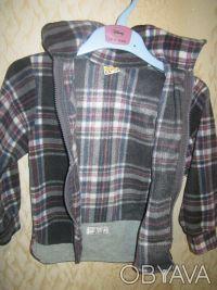 Рубашка теплая на мальчика 3-4 года на молнии в отличном состоянии, мягкая, прия. Харків, Харківська область. фото 3
