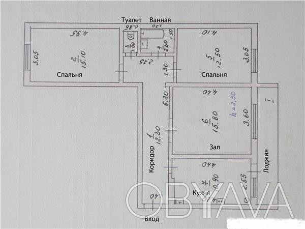 Сады, 3х комнатная квартира, полтава - obyava.ua.
