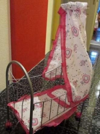 Кроватка для куклы Melogo. Покровск (Красноармейск). фото 1