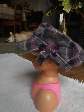 кашкет (кепка) демісезонний класичний для дівчинки. Львов. фото 1