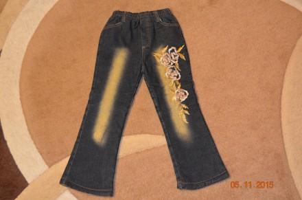 Катоновые утепленные брюки. Винница. фото 1