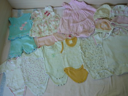 Продам пакет вещей (24 ед.)  для девочки 0-3 лет. Днепр. фото 1