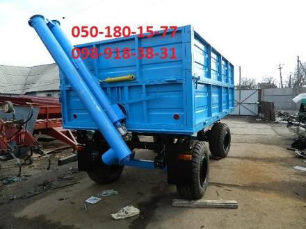 Прицеп тракторный 2ПТС-6, 2ПТС-4. Орехов. фото 1