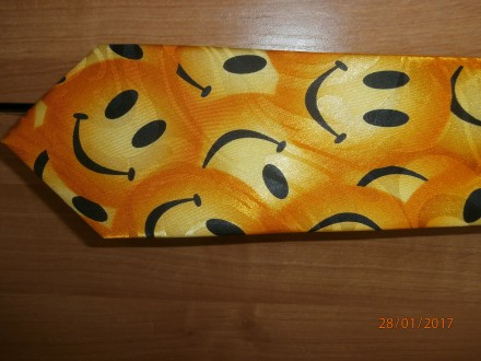 Краватка весела у смайлики. Борислав. фото 1